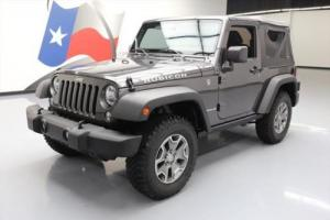 2016 Jeep Wrangler RUBICON 4X4 6-SPEED SOFT TOP