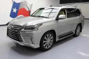 2016 Lexus LX 4X4 LUXURY 8-PASS NAV DVD HUD 21'S