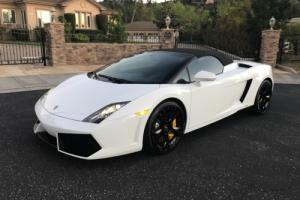 2013 Lamborghini Gallardo LP550 Convertible