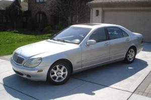 2001 Mercedes-Benz 500-Series