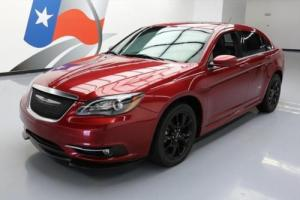 2014 Chrysler 200 Series S LIMITED HTD LEATHER SUNROOF NAV
