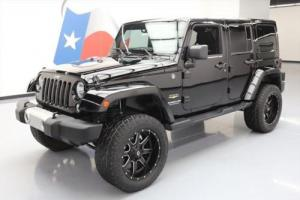 2015 Jeep Wrangler UNLTD SAHARA HARD TOP 4X4 LIFTED NAV