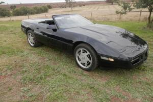 1987 Corvette Convertible Photo