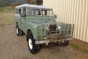 Landrover series 2 long wheel base 109 4x4 suits land cruiser rover Photo