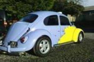 classic vw beetle cal look graphics lowered rare nostalgia rhd not split bay