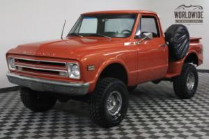 1968 Chevrolet K10 RARE 4X4 SHORT BED V8 AUTO