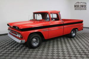 1960 Chevrolet C10 RESTORED RARE FLEETSIDE CUSTOM V8