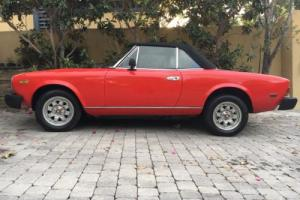 1984 Fiat PININFARINA AZZURA SPIDER SPIDER Photo