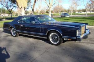 1979 Lincoln Mark Series Continental Mark V Photo
