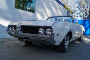 1969 Oldsmobile 442 442 CONVERTIBLE WITH FACTORY PB, PW, PS & A/C!