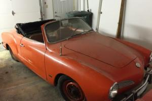 1963 Volkswagen Karmann Ghia Photo