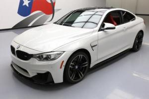 2016 BMW M4 COUPE TURBO 6-SPEED NAV CARBON ROOF 19'S