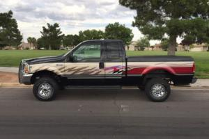 2000 Ford F-350 LOW MILES 1 OWNER RARE SUPER CLEAN BLACK AND TAN