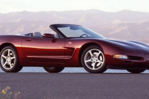 2003 Chevrolet Corvette Convertible 2D 50th Anniversary