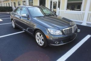 2009 Mercedes-Benz C-Class 4MATIC LUXURY
