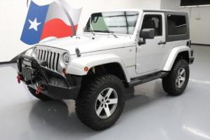 2009 Jeep Wrangler SAHARA 4X4 6SPEED HARDTOP LIFTED