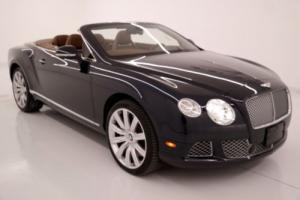 2013 Bentley Continental GT GTC W12 Convertible