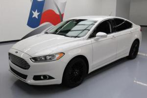 2014 Ford Fusion SE TECH ECOBOOST HTD LEATHER NAV