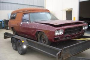 08/1973 Holden HQ PROJECT CUSTOM PANEL VAN Rolling Body Photo