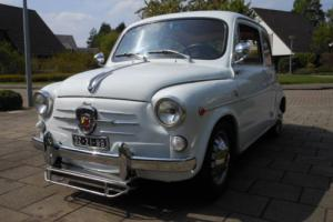 1962 Fiat 600D Abarth 850 TC Photo