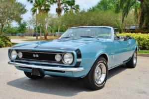 1967 Chevrolet Camaro Convertible SS Tribute 350 V8 4-Speed PS PB