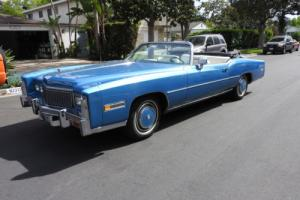 1976 Cadillac Eldorado Convertible Photo
