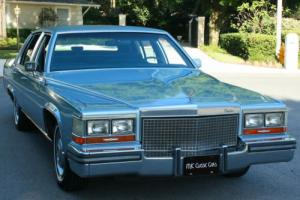 1988 Cadillac Brougham TWO OWNER - MINT - 5.0L V-8 - 60K MILES