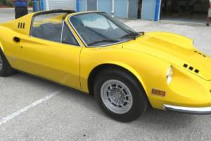 "1973 Ferrari Other Dino 246 GTS ""Chairs & Flares"" U.S. Model Photo"