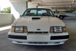 1986 Ford Mustang SVO 1 OF 561 9L CODE EXCELLENT COND.WITHNOS PARTS