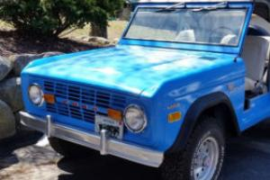 1970 Ford Bronco Sport Photo