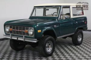 1976 Ford Bronco RESTORED WITH ORIGINAL PAINT UNCUT PS PB Photo