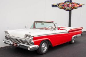 1959 Ford Galaxie Fairlane 500 Galaxie Sunliner Convertible
