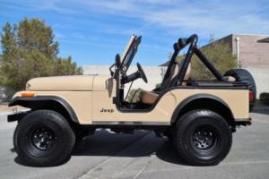 1981 Jeep CJ Rust Free - Restored