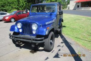 1981 Jeep CJ Photo