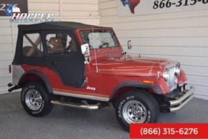 1982 Jeep CJ CJ5 Photo