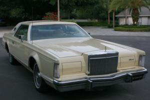 1979 Lincoln Mark Series MARK V - 33K Photo