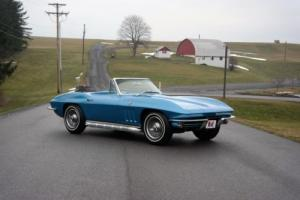 1965 Chevrolet Corvette FrameOffRestoration*NCRSTopFlight*Orig#sMatch365hp Photo