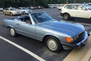 1986 Mercedes-Benz SL-Class SL Photo