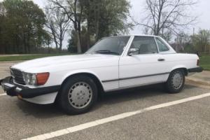 1989 Mercedes-Benz SL-Class Photo