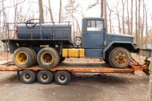1955 Other Makes MILITARY REO M45 DECONTAMINATION UNIT SPRAY TRUCK