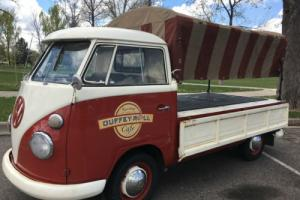 1963 Volkswagen Single Cab Photo