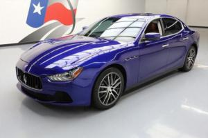 2015 Maserati Ghibli TURBO SUNROOF NAV HTD SEATS