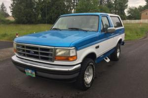 1995 Ford Bronco 1995 FORD BRONCO 4X4  Low miles only 88.K