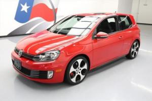 2011 Volkswagen Golf TURBO 6-SPEED SUNROOF HTD SEATS