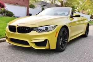 2015 BMW M4 M SUSPENSION, STICK SHIFT