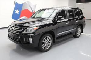 2015 Lexus LX AWD LUXURY 8-PASS SUNROOF NAV DVD