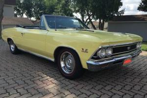 1966 Chevrolet Chevelle SS CHEVELLE CONVERTIBLE