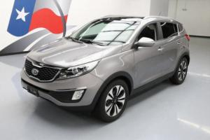 2012 Kia Sportage SX AWD LEATHER PANO NAV REAR CAM