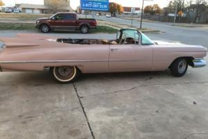 1959 Cadillac convertible Series 62