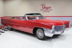 1965 Cadillac DeVille Convertible Photo